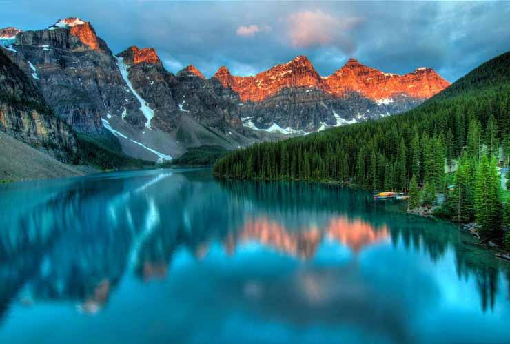 Onde fica Alberta, Canadá