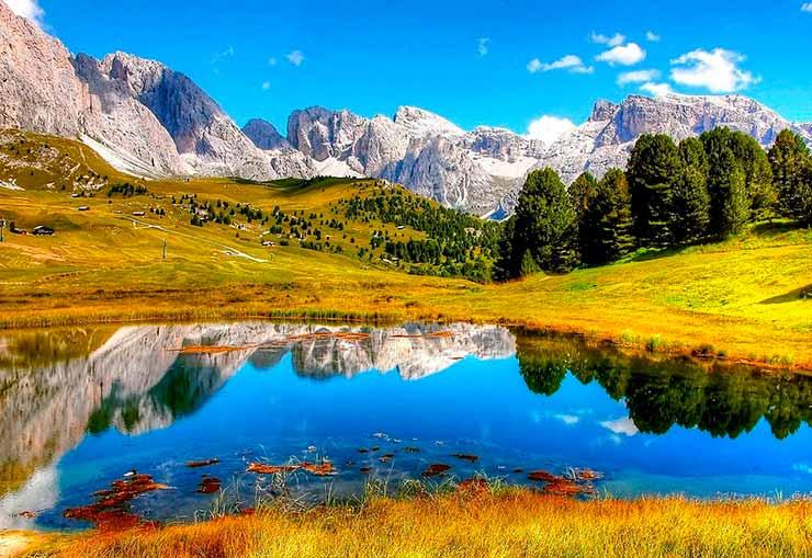 Onde ficam as Dolomitas?