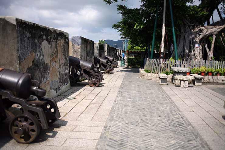 Fortaleza do Monte em Macau, China