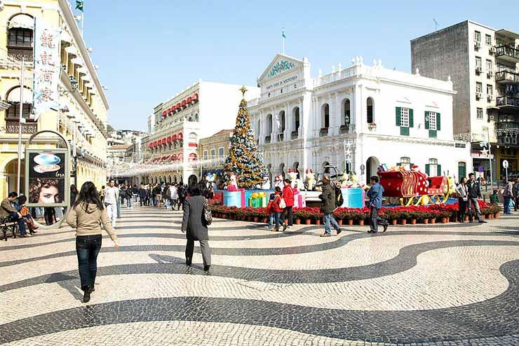 Largo do Senado, Macau, China