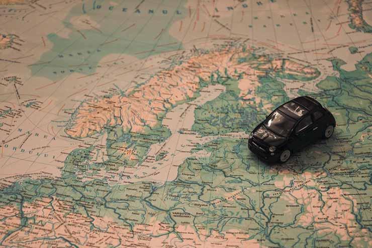 Onde fica a Ucrânia no mapa?