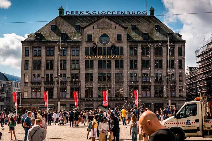 Museu Madame Tussauds em Amsterdam
