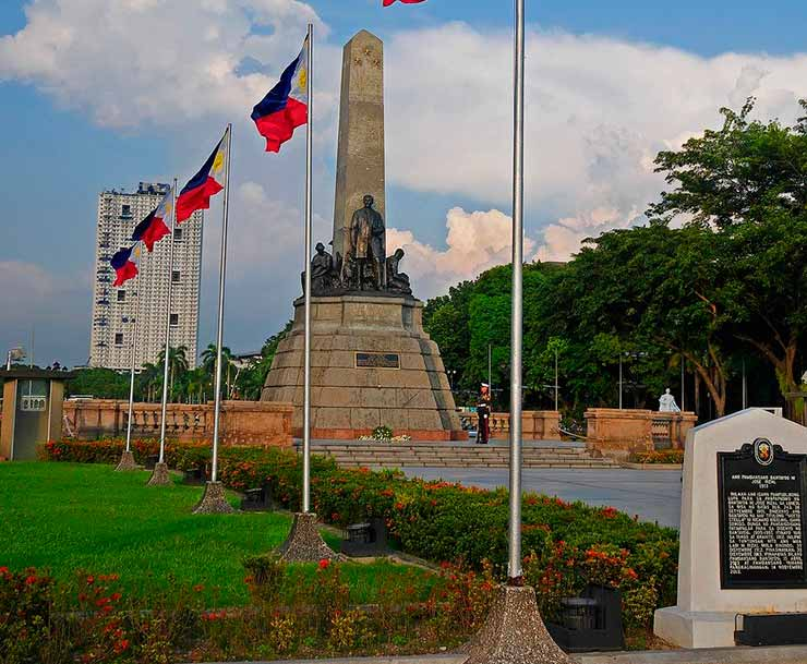 Onde se localizam as Filipinas?