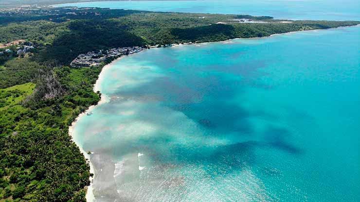 Onde ficam as praias de Porto Rico