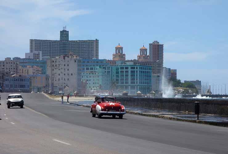 Distância de santiago de cuba até Havana