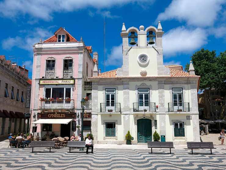 Centro histórico Cascais, Portugal