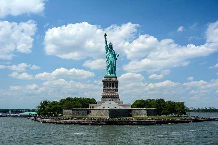 Onde fica a Estátua da Liberdade