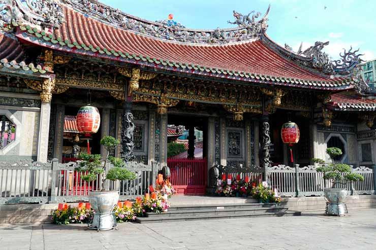 Templo de Longshan de Taipei, Taiwan