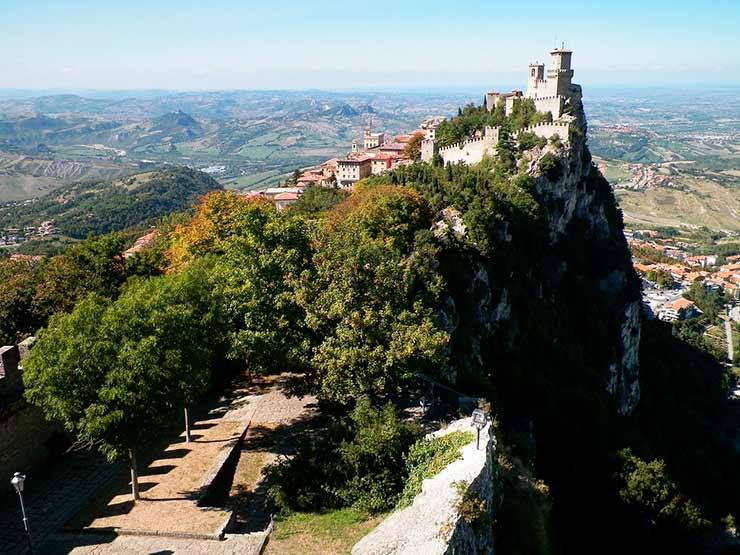 Turismo de Vacina San Marino