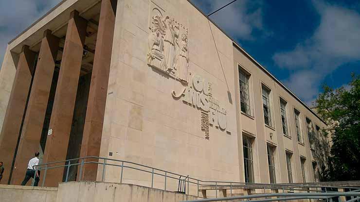 Universidade de Lisboa, foto de Eugenio Hansen, OFS
