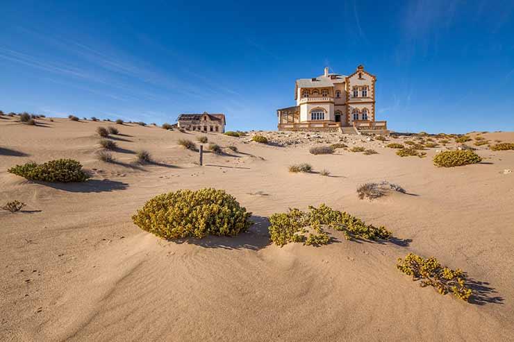 Cidades Fantasma Kolmanskop - Namíbia