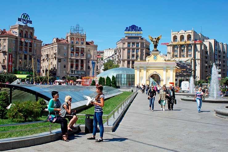 Praça da Independência Kiev