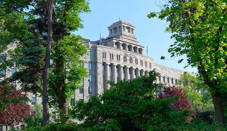 Localização da Sérvia: Belgrado