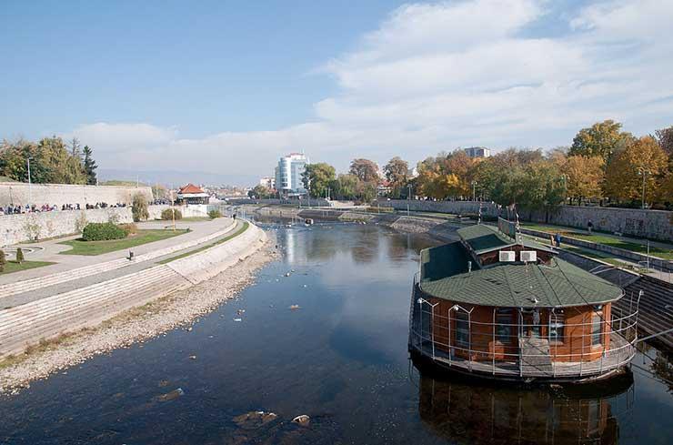 Localização da Sérvia: Naissus
