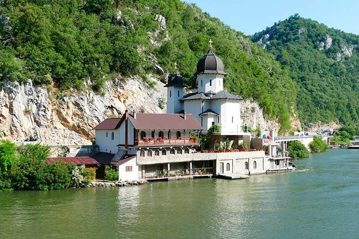Localização da Sérvia