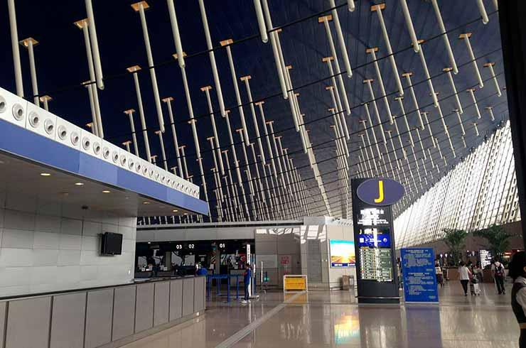 Aeroporto Internacional de Shanghai Pudong – China