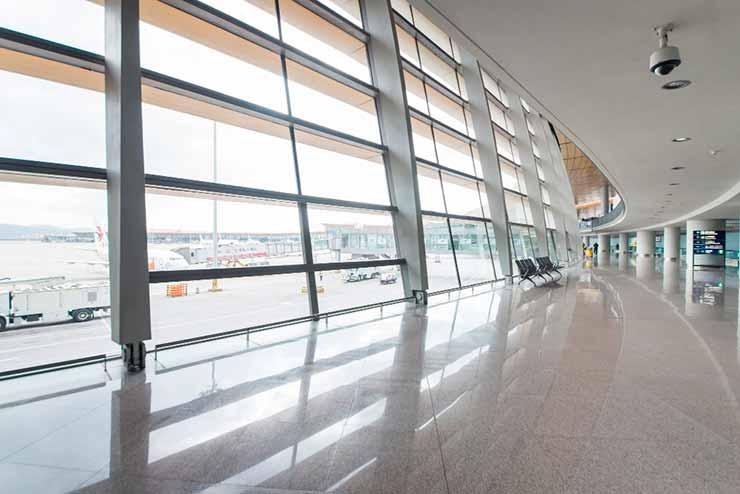 10 Maiores aeroportos do mundo em tamanho
