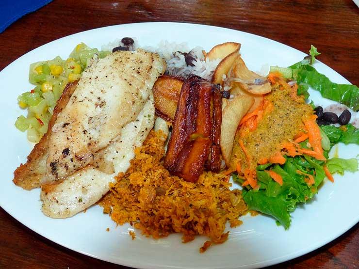 onde comer em San José Costa Rica
