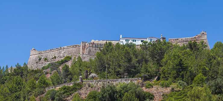 Ruínas do Castelo São Filipe