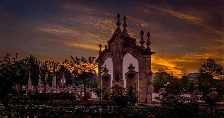 Pontos turísticos em Barcelos, Portugal