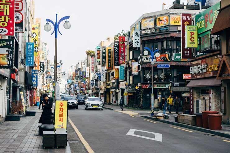 Como chegar em Busan?