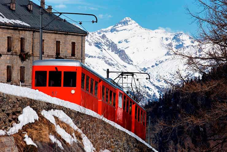 Como chegar a Chamonix, França