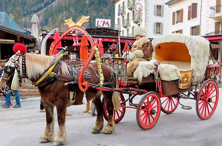 História da cidade Chamonix