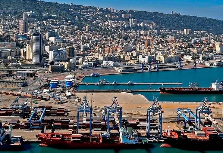 Porto de Haifa
