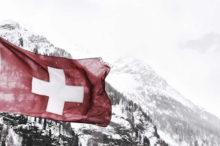 Moeda da Suíça