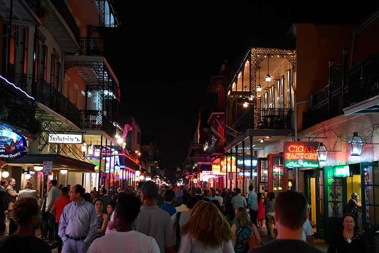 Bourbon Street - Nova Orleans
