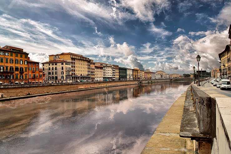 Lungarni di Pisa (Rio Arno)