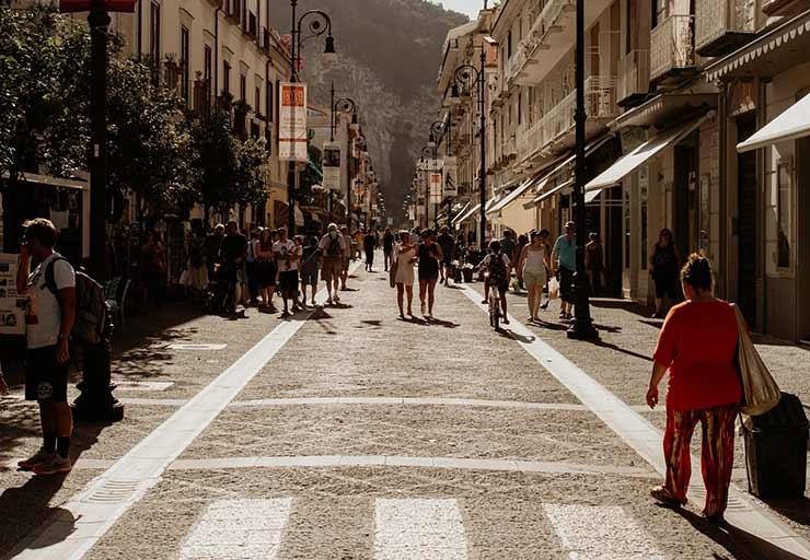 Piazza Tasso e Corso Italia