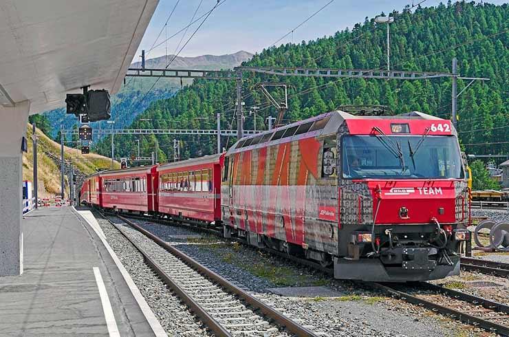 St Moritz: Arredores