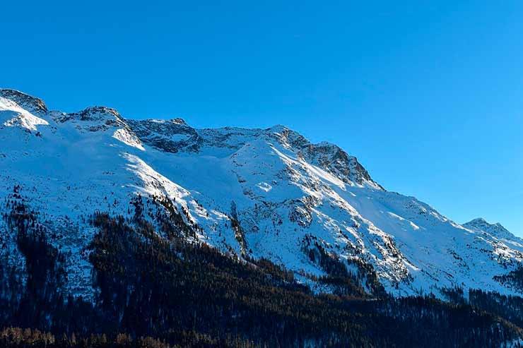 Montanhas de St Moritz