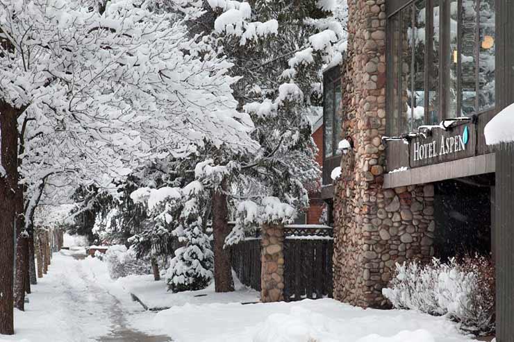 Onde ficar em Aspen para esquiar? Hotel Aspen
