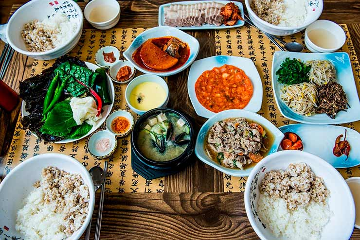 Comida da Coreia do Sul