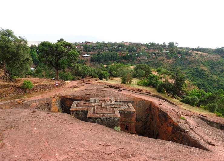 Lalibela, Etiópia