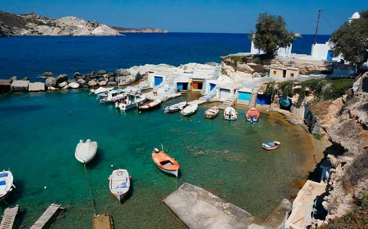 Roteiro Milos Grécia