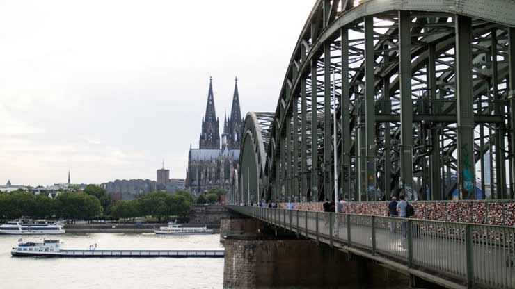 Ponte Hohenzollernbrücke