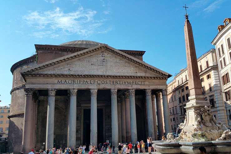 Como chegar ao Panteão, Roma?