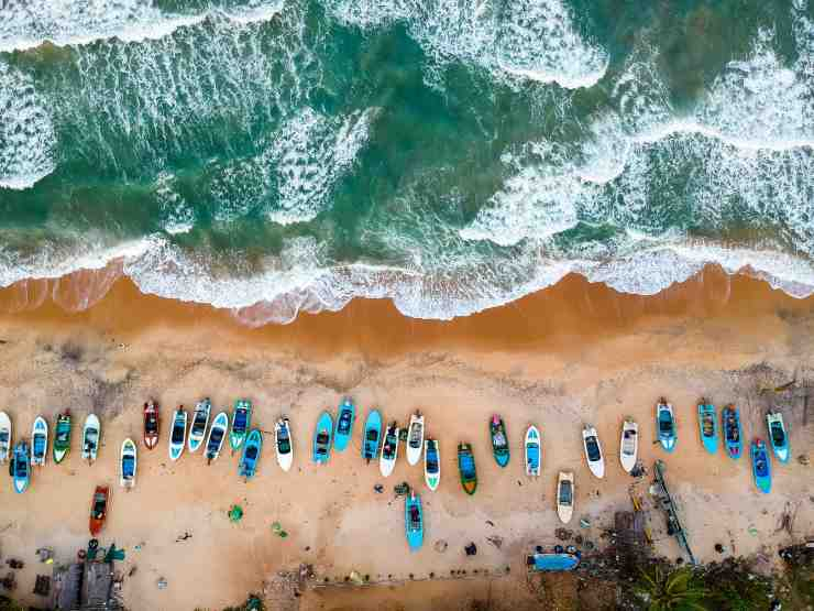 Baía de Arugam, Sri Lanka