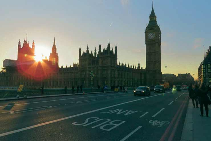 Distância de Londres para Stonehenge