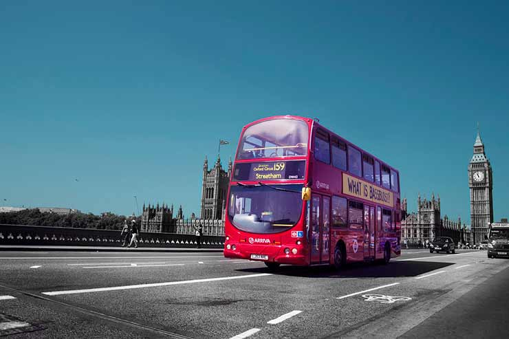 Stonehenge, Inglaterra De ônibus