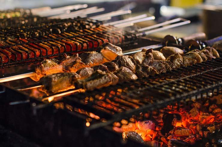 Restaurantes em Caraíva
